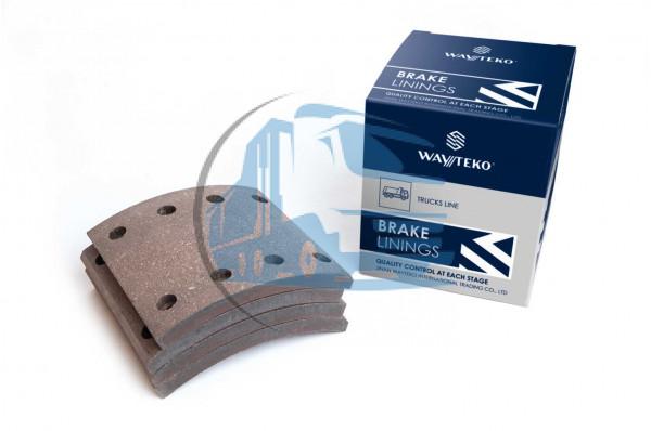 накладка тормозная задняя 184х188 (8 отверстий) Wayteko HOWO WG9200340068